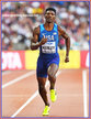 Fred KERLEY - U.S.A. - Seventh in 400m at 2017 World Championships.