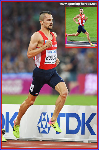 Jakub HOLUSA - Czech Republic - Fifth place in 1,500m at 2017 World Championships.