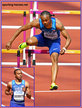 Aries MERRITT - U.S.A. - Fifth place in 110m hurdles at 2017 World Championships.