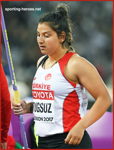 Eda TUGSUZ - Turkey - 5th in the javelin at the 2007 World Championships.