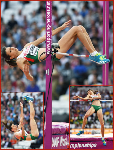 Mirela DEMIREVA - Bulgaria - Seveth in high jump at 2017 World Championships.