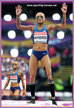 Inika McPherson - U.S.A. - 9th. in high jump at 2017 World Championships.