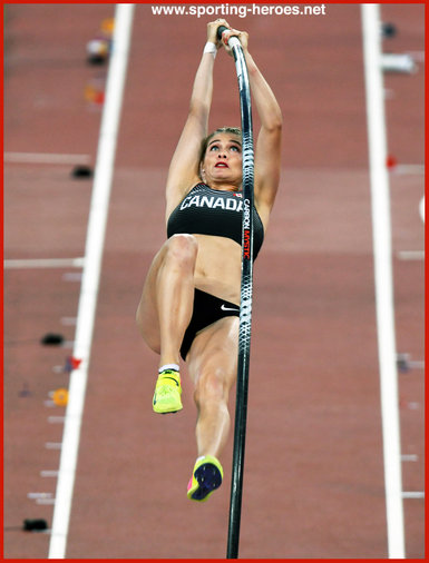 Alysha NEWMAN - Canada - Seveth in pole vault at 2017 World Championships.