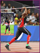 Keshorn WALCOTT - Trinidad & Tobago - 7th. in the javelin at 2017 World Championships.