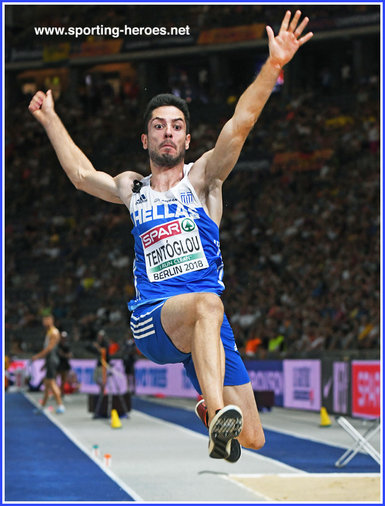 Miltiadis  TENTOGLOU - Greece - 2018 European men's long jump champion.