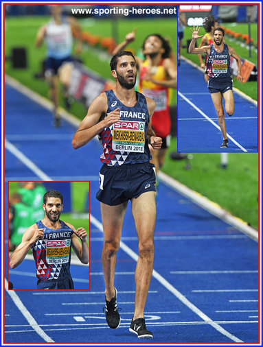 Mahiedine Mekhissi-Benabbad - France - 2018 European steeplechase Champion: times five.