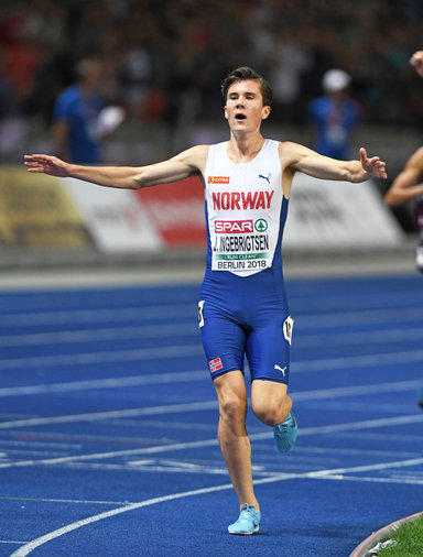 Jakob INGEBRIGTSEN - Norway - Second gold medal for the wonder kid from Norway.