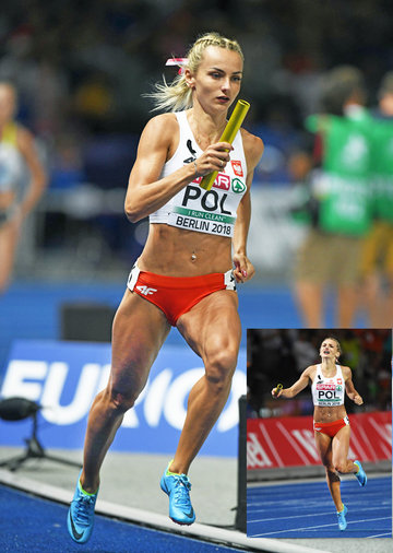Justyna SWIETY-ERSETIC - Poland - Two 400m gold medals at 2018 European Championships.