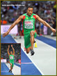 Nelson EVORA - Portugal - 2018 European triple jump champion - at last.