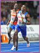 Harry AIKINES-ARYEETEY - Great Britain & N.I. - Gold medal in 4x100 at 2018 European Championships.