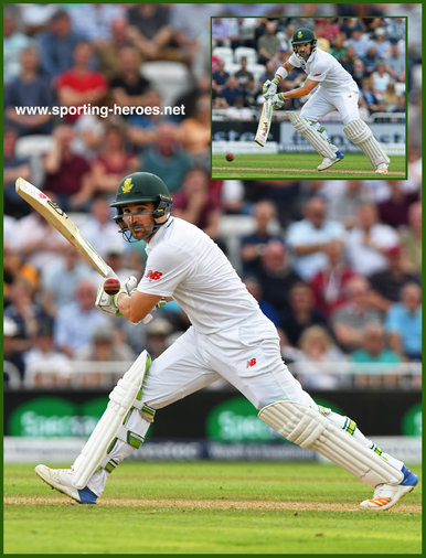 Dean ELGAR - South Africa - 2017 Four Test series in England.