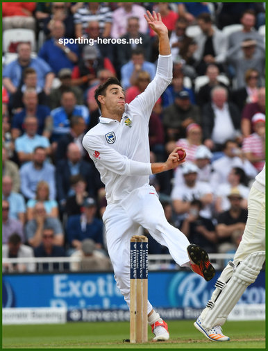 Duanne OLIVIER - South Africa - 2017 Four Test Series in England.