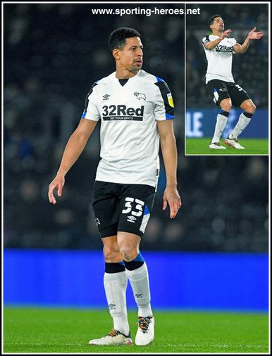 Curtis Davies - Derby County - League Appearances