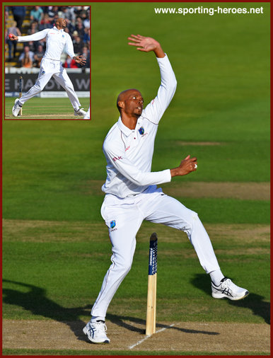 Roston CHASE - West Indies - 2017 Three Test series in England.