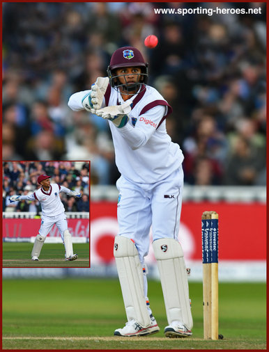 Shane DOWRICH - West Indies - 2017 Three Test series in England.