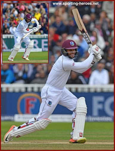 Shai HOPE - West Indies - 2017 Three Test series in England.