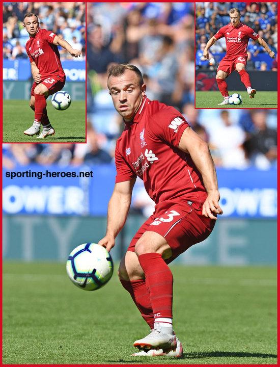Xherdan Shaqiri Premier League Appearances Liverpool Fc