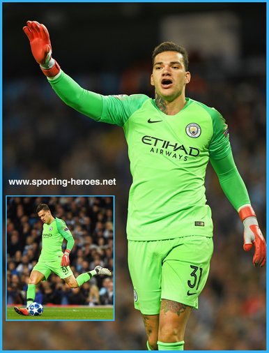 EDERSON (1993) - Manchester City FC - 2018/2019 Champions League