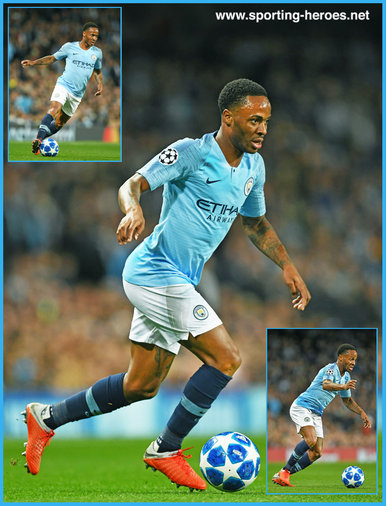 Raheem STERLING - Manchester City FC - 2018/2019 Champions League