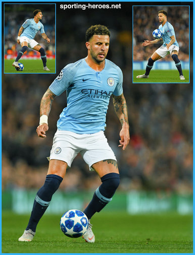 Kyle Walker - Manchester City FC - 2018/2019 Champions League