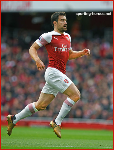 Sokratis Papastathopoulos - Arsenal FC - Premier League Appearances