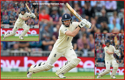 Ollie POPE - England - 2018 Five Test series against India.