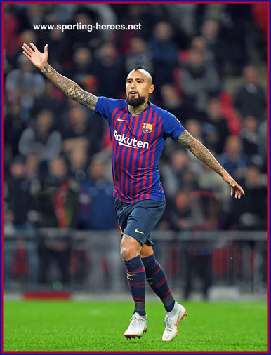 Arturo Vidal - 2018/19 Champions League.