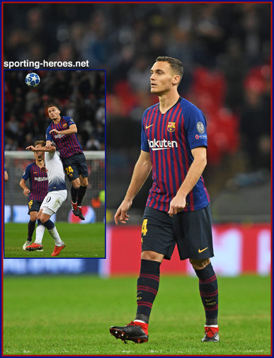 Thomas Vermaelen - Barcelona - 2018/2019 Champions League