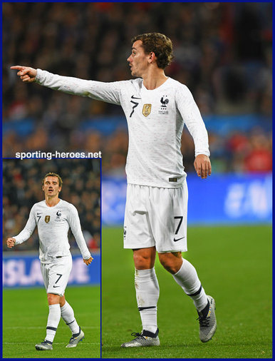 Antoine GRIEZMANN - France - 2018 World Cup Finals Games.