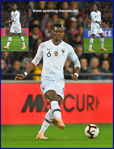 Paul POGBA - France - 2018 World Cup Final Games.