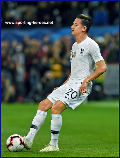 Florian THAUVIN - France - 2018 World Cup Finals Games.
