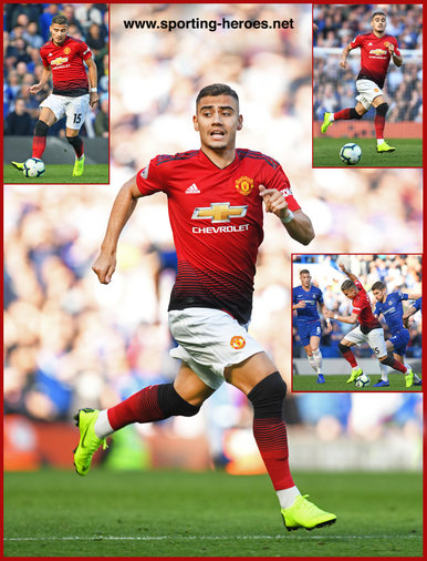 Andreas PEREIRA - Manchester United - League appearances.