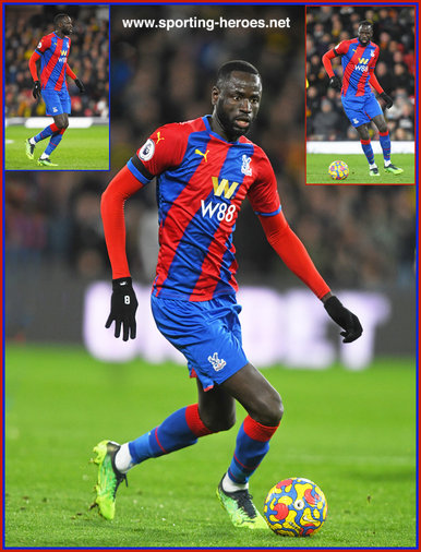 Cheikhou  KOUYATE - Crystal Palace - Premier League Appearances