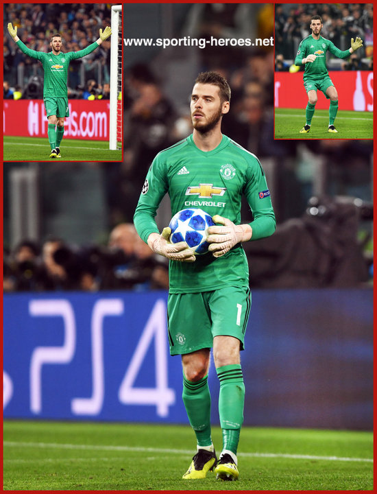 2723080d David DE GEA - 2018/2019 Champions League - Manchester United