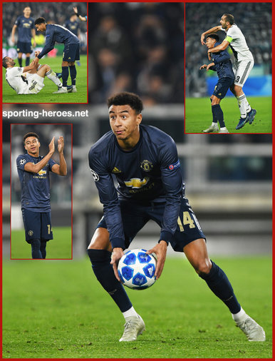 Jesse LINGARD - Manchester United - 2018/2019 Champions League