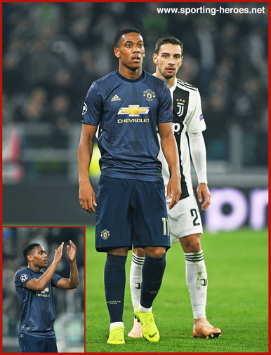 Anthony MARTIAL - Manchester United - 2018/2019 Champions League