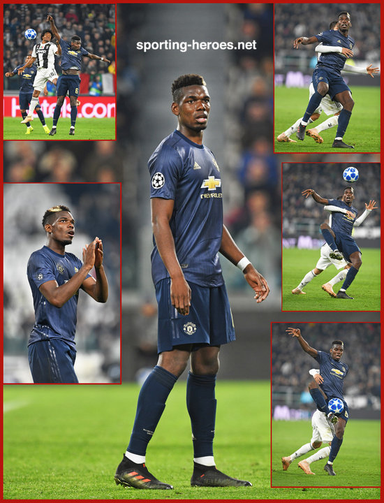 b50e798d Paul POGBA - 2018/2019 Champions League - Manchester United