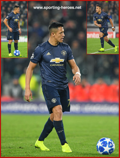 Alexis Sanchez - Manchester United - 2018/2019 Champions League