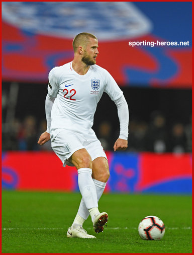 Eric DIER - England - 2018 UEFA Nations League Games.