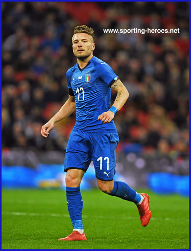 Ciro Immobile - Italian footballer - 2018 UEFA Nations League Games.