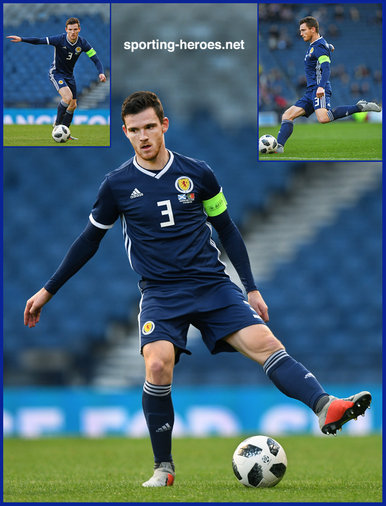 Andrew ROBERTSON - Scotland - 2018 UEFA Nations League games.