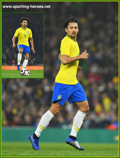 MARQUINHOS - Brazil - 2018 FIFA World Cup games.