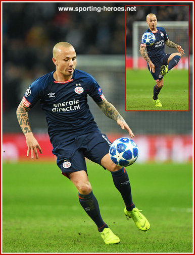 ANGELINO - PSV  Eindhoven - 2018/2019 Champions League