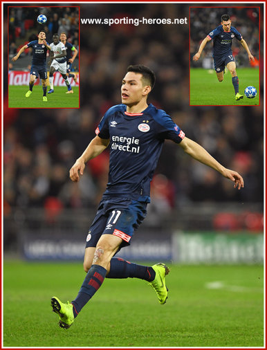 Hirving LOZANO - PSV  Eindhoven - 2018/2019 Champions League