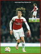 Matteo GUENDOUZI - Arsenal FC - 2018/19 Europa League. Group games.