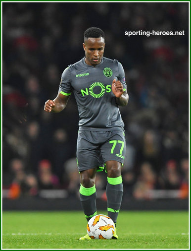 Jovane CABRAL - Sporting Clube De Portugal - 2018/19 Europa League. Group games.
