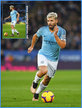Sergio AGUERO - Manchester City FC - Premier League appearances. 2017-