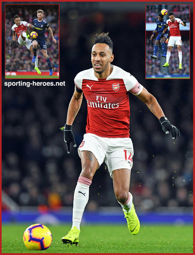 Pierre-Emerick AUBAMEYANG - Arsenal FC - Premier League appearances