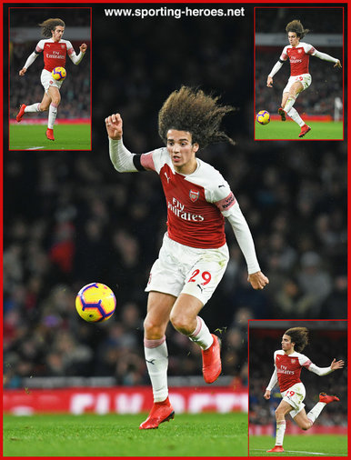Matteo GUENDOUZI - Arsenal FC - Premier League Appearances