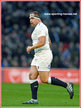 Ben MOON - England - International Rugby Union Caps.